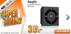 Saturn Super Sunday - heute mit Apple iPod Shuffle ab 33 € oder Metro: Last Light ab 27 €