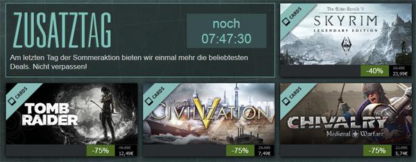 Letzter Tag der Steam Summer Getaway-Aktion - heute mit The Walking Dead für 6,24 €