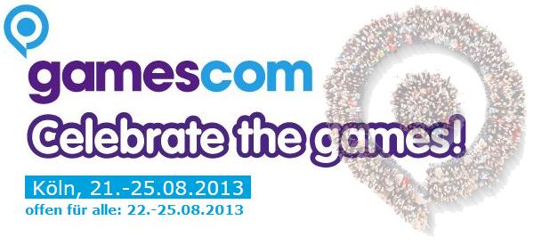 Gamescom: Eintrittskarte für den 25. August 2013 für 8,50 € - bis zu 50% sparen
