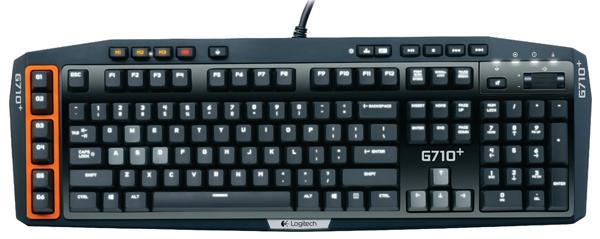 Gaming-Tastatur Logitech G710+ für 77€ bei Amazon - 34% Ersparnis