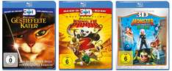 Saturn vs. Amazon: Blu-rays für je 8,99 € und 3D Blu-rays für 14,99 €