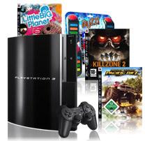 Pauls Deal Day - Sony Playstation 3 80GB mit 4 Spielen für 415€