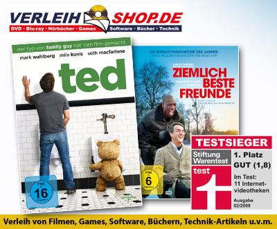 Verleihshop: Bis zu 15 € Guthaben für Neukunden und 3,99 € für Bestandskunden