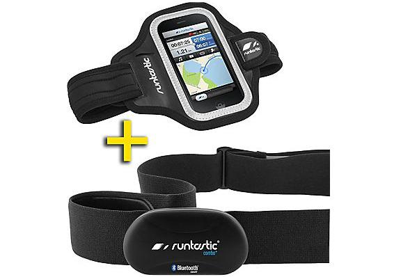 Runtastic Sportlerset für Smartphones (Armband + Bluetooth-Brustgurt) für 60 € *Update* jetzt für 47,88 €