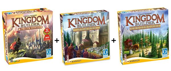 """Kingdom Builder - """"Spiel des Jahres 2012"""" + 2 Erweiterungen für 39,99 € - 17% sparen"""