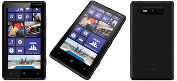 """Nokia Lumia 820 (4,3"""", Windows Phone 8, 8 GB Speicher) für 204,99 € - 14% sparen"""