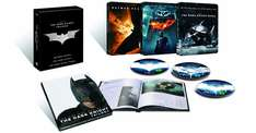 The Dark Knight Trilogy in der Steelbook Edition (5 Blu-rays) für 39,97 €