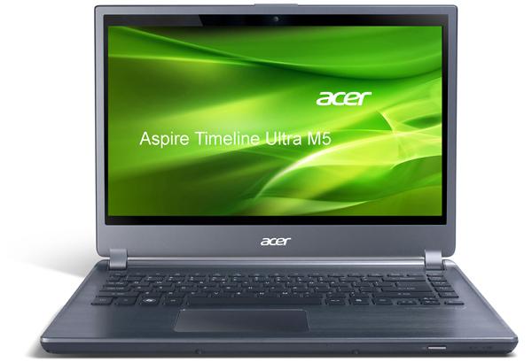 "Ultrabook Acer Aspire Timeline Ultra M5-481TG (14"", 500 GB HDD, 20 GB SSD) für 499,90 € - 21% Ersparnis"
