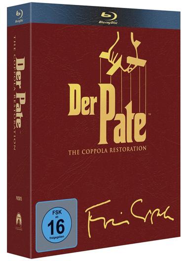 Der Pate - The Coppola Restoration (4 Blu-rays) für 24,97 € *Update* jetzt für 21,97 € - 31% sparen
