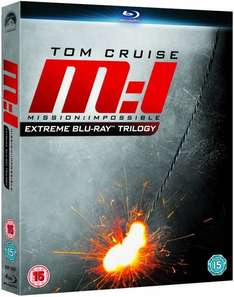 Mission Impossible - Extreme Trilogy (Blu-ray) für 10,50 € bei Zavvi