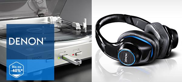 Kopfhörer und HiFi-Produkte von Denon zu sehr guten Preisen bei Brands4Friends & 12 € sparen mit Gutschein