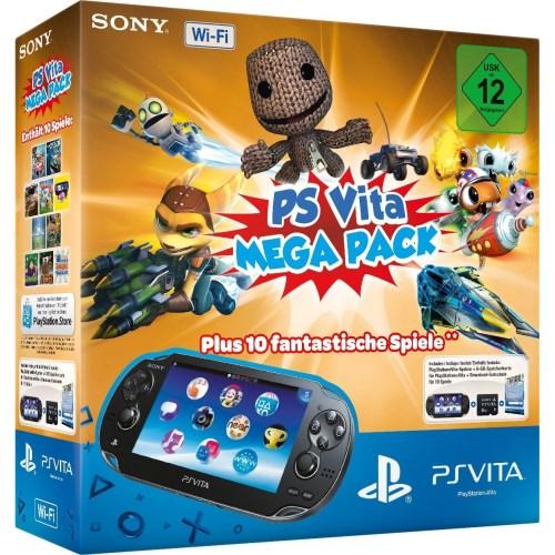 PlayStation Vita Mega Pack für 169 € statt 199 € bei real,- (bundesweit)!