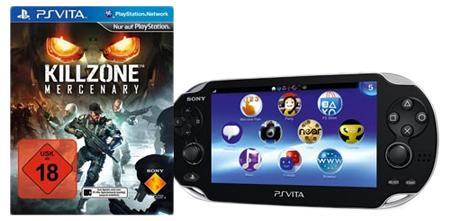 PlayStation Vita + Killzone: Mercenary + 8 GB Speicherkarte für 169 € statt 205 € vorbestellen