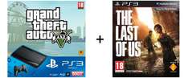 Sony PlayStation 3 (500 GB) + GTA V + The Last of Us für 242 € - 28% sparen