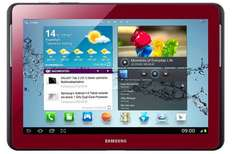 "Samsung Galaxy Tab 2 (10,1"", WiFi, 16 GB, rot) für 199 € bei Media Markt AT - 24% sparen"