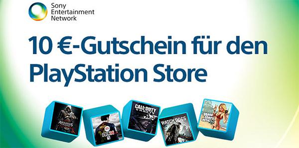 Sony: 50 € Guthaben für PlayStation Store kaufen, 10 € geschenkt bekommen