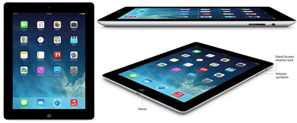 Apple iPad 4 (16 GB, LTE, schwarz) ab effektiv 374,50 € durch 155,24 € Gutschrift bei Rakuten