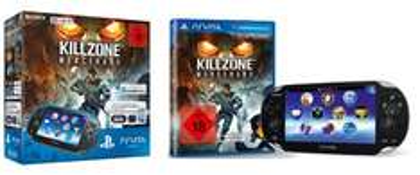 Sony PlayStation Vita (3G + WiFi) + Killzone: Mercenary + 8 GB Speicherkarte für 169 €