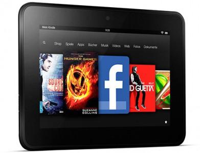 Amazon: Kindle Fire HD (16 GB) für nur noch 139 € oder mit 32 GB für 169 €