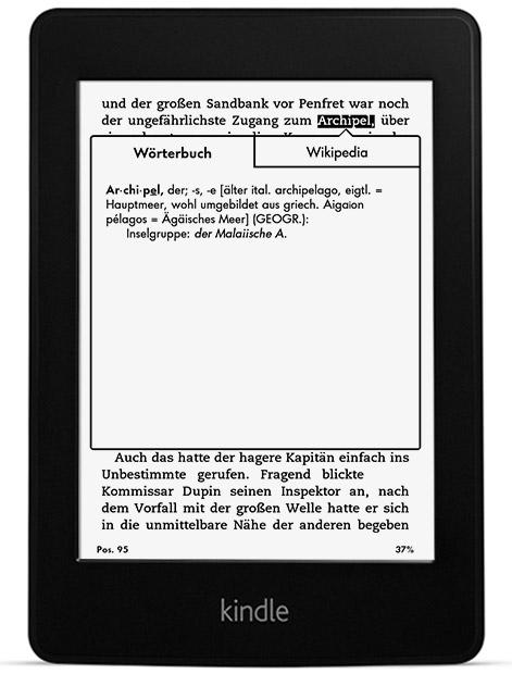 Amazon: Kindle Paperwhite (2013) für 99 € - nur für Prime-Kunden!