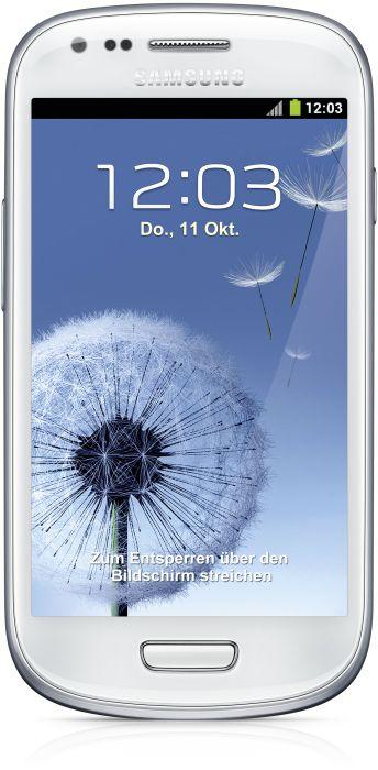 Samsung Galaxy S3 Mini für nur 143 Euro statt 189 Euro bei Notebooksbilliger.de!