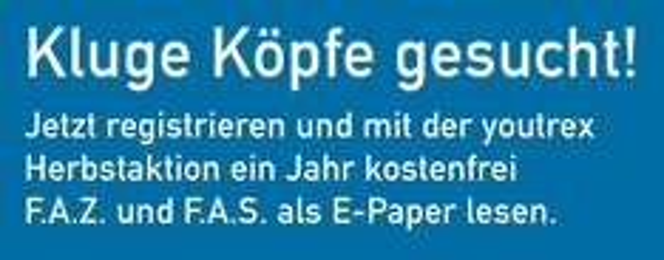 Jahresabo der FAZ und FAS als ePaper gratis & selbstkündigend für Studenten