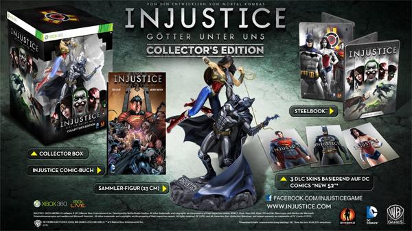 Injustice: Götter unter uns - Collector's Edition (PS3, Xbox 360) für 38,97 € - 28% sparen