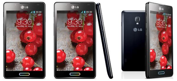 Android-Smartphone LG Optimus L7 II für 99 € bei Base - 48% sparen