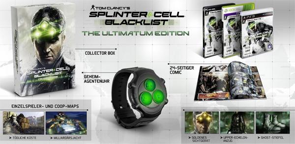 Tom Clancy's Splinter Cell Blacklist Ultimatum Edition ab 33,97 € *Update* jetzt für 16,42 € - 63% sparen