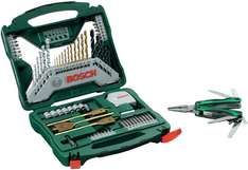 Bosch Promoline X-Line Set (70-teilig) + Multitool für 29,99 € - 25% Ersparnis
