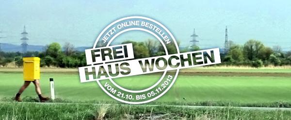 Frei Haus Wochen: Gratisversand bei vielen österreichischen Online-Shops bis 05. November