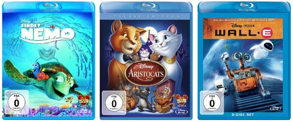 Filmangebote bei Amazon - z.B. 2 Blu-rays für 13 €, Disney Blu-rays unter 10 € oder 4 DVDs für 20 €