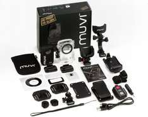 1080p-Action-Cam Veho MUVI HD mit umfangreichem Zubehör um 115,90 € - 25% Ersparnis