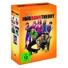 The Big Bang Theory - Staffel 1 bis 5 (DVD) für nur 30,34€