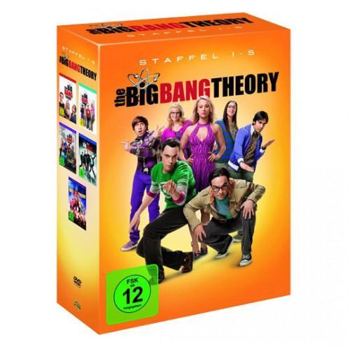 The Big Bang Theory - Staffel 1 bis 5 (DVD) für nur 30,34€