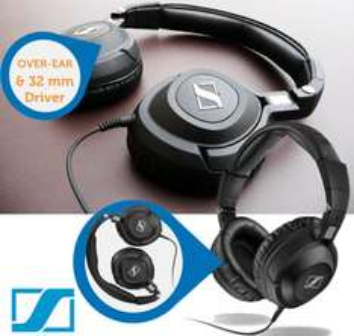 Studio-Kopfhörer Sennheiser HD 360 Pro für 75,90 € bei iBOOD - 36% Ersparnis