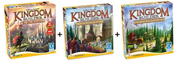 Kingdom Builder (Spiel des Jahres 2012) + 2 Erweiterungen für 29,62 € - 30% sparen