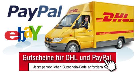 [Computerbild-Aktion] Gratis-Gutscheine für DHL und PayPal (15€)