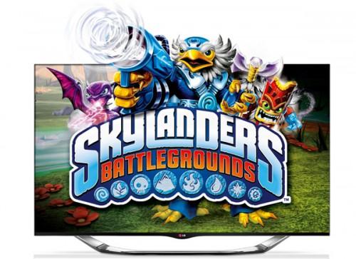 LG 42LA6918 (3D, WLAN, Triple-Tuner) + Skylanders Battlegrounds für 569 € - 24% sparen