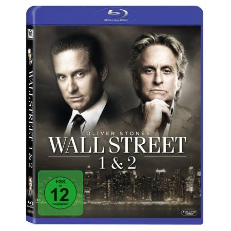 Wall Street 1 + 2 (Blu-ray) für 8,97 € statt 18 €