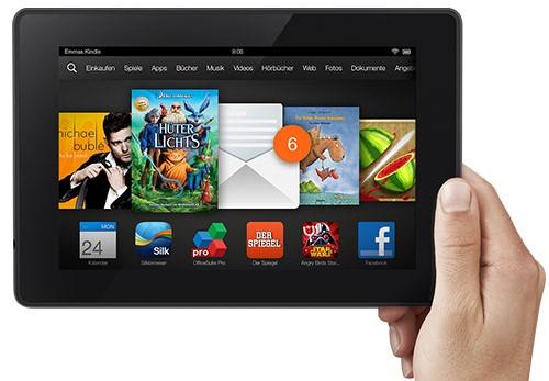 Kindle Fire HD 32 GB (7'', Dual-Band Wi-Fi) für 119,90 € im DealClub - 29% Ersparnis