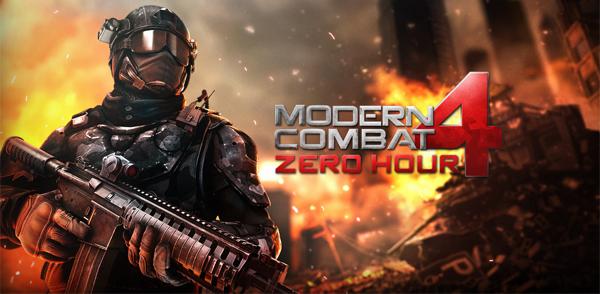 Action-Spiel Modern Combat 4: Zero Hour gratis für iOS statt 5,99 €