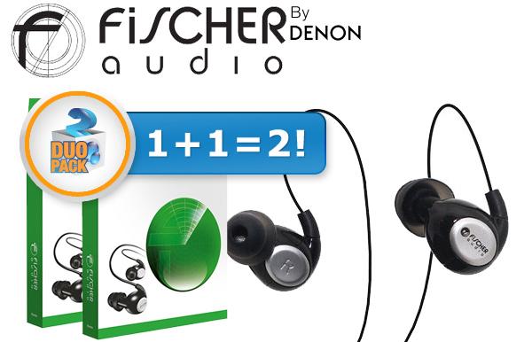 2er-Pack In-Ear-Ohrhörer Fischer Audio Eterna für 45,90 € - 41% sparen