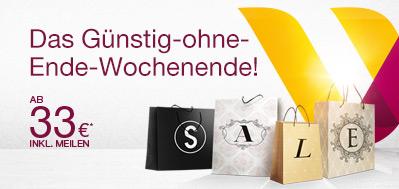 Flugangebote bei Germanwings: Europaweite One-Way-Flüge ab 33 €