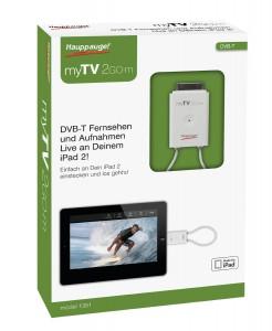 Hauppauge myTV 2GO-m DVB-T-Empfänger für Apple iPhone/iPad für 39,89 € - 24% sparen