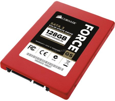 SSD-Speicher Corsair Force GS (128 GB) für 74,85 € - 19% Ersparnis