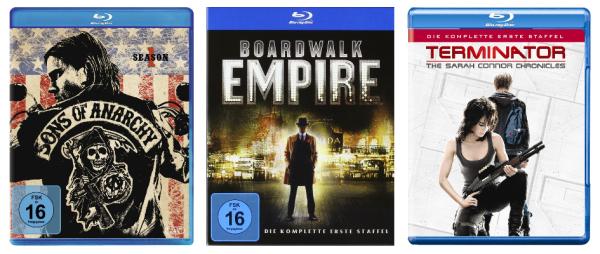 Neue Filmaktionen bei Amazon im Überblick - z.B. 2 TV-Serien auf DVD für 20 €