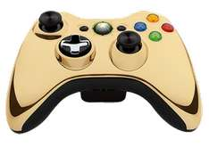 Limitierte Special-Edition: Xbox 360 Wireless Controller in Chrome Gold um 19 € - bis zu 56% sparen