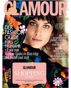 Glamour Shopping Week - Rabatte bei über 100 Unternehmen - vom 5. bis 12. April 2014
