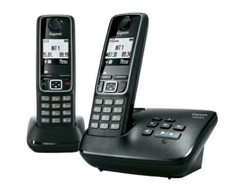 Schnurlostelefon Gigaset A420 A Duo mit Anrufbeantworter (B-Ware) für 32,19 €
